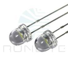供应库存晶元芯片led无边圆柱草帽白光发光二极管批发