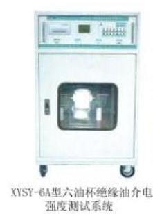 六油杯绝缘油介电强度测试系统图片