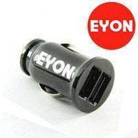 供应EYON苹果ipad车载充电器双USB车充三星HTC苹果通用批发