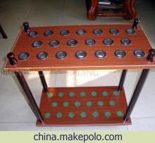 供应LP球杆台球桌专用球杆架批发