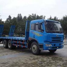大量运输矿用机器的平板运输车质量保证图片