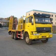 供应运输矿用机器的平板运输车图片