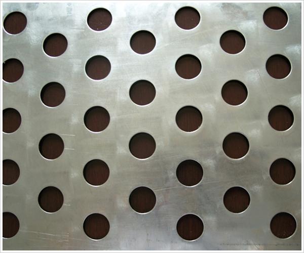 供应高品质冲孔铝板网图片