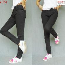 供应彩色铅笔裤韩版铅笔裤,铅笔裤美女
