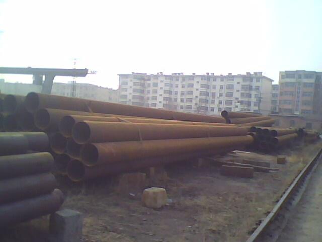 供应材质X52大口径直缝钢管