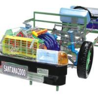 优质供应桑塔纳2000型轿车透明模型,驾校教学模型,整车透明模型