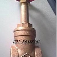 供应FIG408炮金铜升杆式闸阀