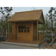 苏州木质景观工程图片