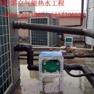 浙江空气能热水工程公司图片