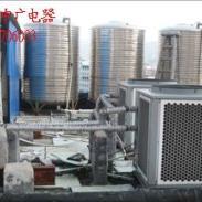 酒店空气能热水工程安装图片