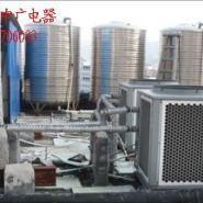 酒店空气能热水工程图片