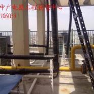 温州游泳场空气能热水工程图片