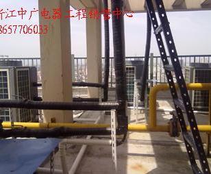 浙江空气源热水器工程安装公司图片