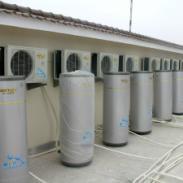 家用空气能热水器机组供货商图片