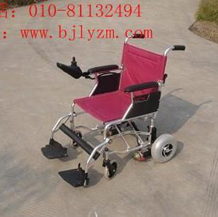 轻便折叠电动轮椅图片