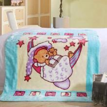 供应婴童毛毯珊瑚绒毛毯拉舍尔毛毯儿童毛毯OEM加工批发