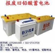 天津高价回收废旧蓄电池废旧电瓶图片