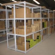 仓储货架万能角钢货架轻型仓储图片