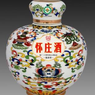 怀庄景德镇青花瓷10斤瓶装酒图片