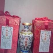 怀庄收藏酒系列青花瓷瓶一斤装酒图片