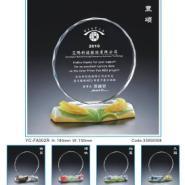 阿法瓷水晶奖牌图片