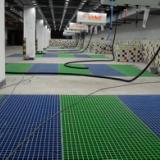供应污水处理厂用PVC钢格板