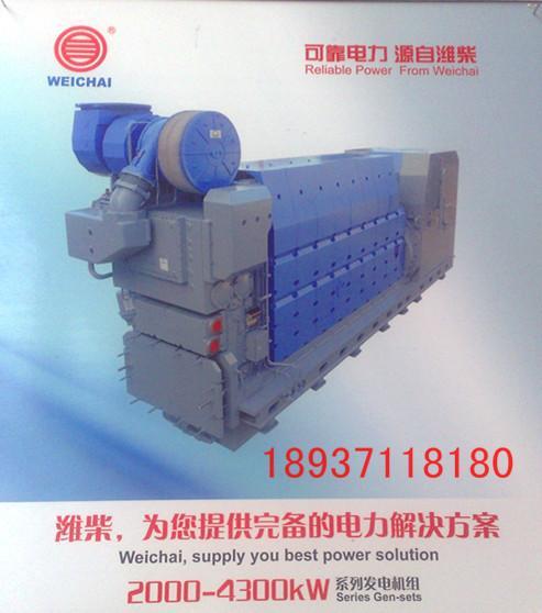 供应潍柴柴油发电机组工作原理 高清图片