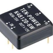 48V转正负12V稳压DC-DC模块电源6W图片