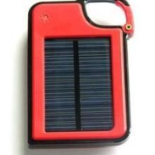 供应红色太阳能手机充电器批发