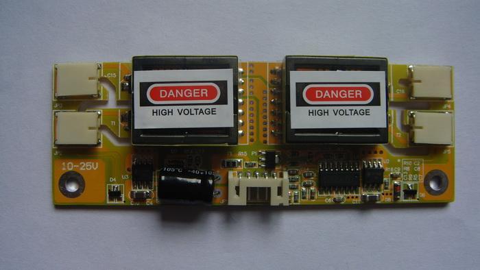 供应四灯小口液晶高压板 显示器高压板 液晶高压板