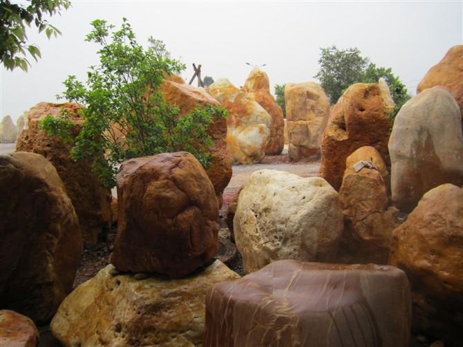 广东英德良好园林奇石场