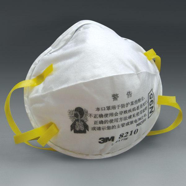 供应3m防尘口罩8210