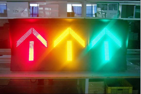 一体式机动车组合交通信号灯 一体式机动车组高清图片
