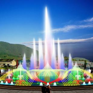音乐喷泉图片