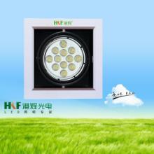 供应led斗胆灯12W开孔L155xW155正/暖/冷现货批发