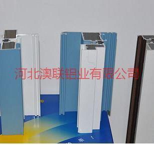 郑州销售断桥门窗铝合金型材图片