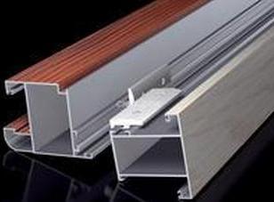 内蒙古明框玻璃幕墙铝型材销售图片