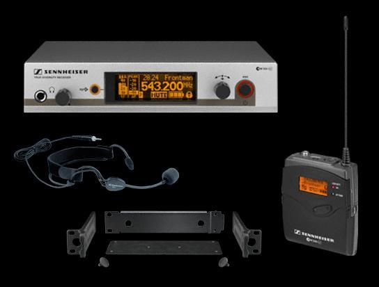森海塞尔ew35g3无线话筒图片