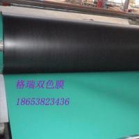 供应北京黑绿双色土工膜