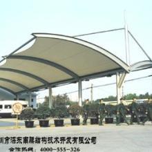 供应钢结构建筑膜结构停车棚膜结构