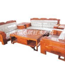 吉林古典家具红木沙发哪里有卖 非洲花梨木客厅家具 沙发组合6件套 大果紫檀沙发  实木沙发组合 批发