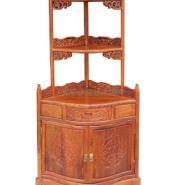 角柜东阳红木家具三角酒柜图片