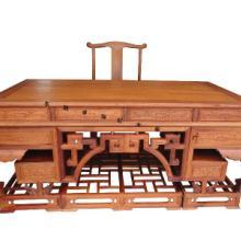 供应上海东阳木雕厂家出售 上海东阳木雕厂家出售红木办公桌仿古家具厂家直销批发非花