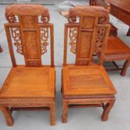 辽宁东阳木雕哪里有买餐椅批发价格图片