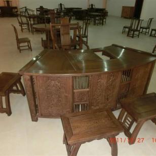 吉林明清家具生产销售茶台6件套图片