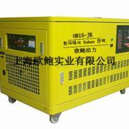 陕西省20KW双燃料发电机图片