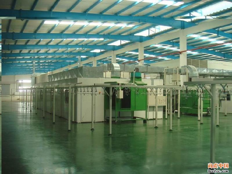 宝达工业设备 东莞喷漆生产线