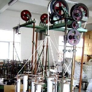 慈溪二轨8锭方形盘根编织机图片