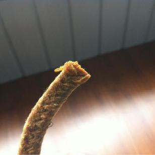 内蒙古油浸棉纱盘根图片