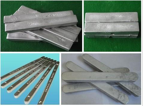 供应40-90度易熔合金图片